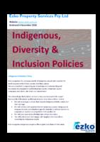 Diversity & Inclusion Policies