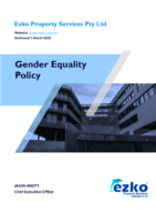 Ezko Gender Equality Policy