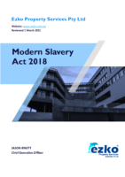 Modern Slavery Act Assessment & Action Plan